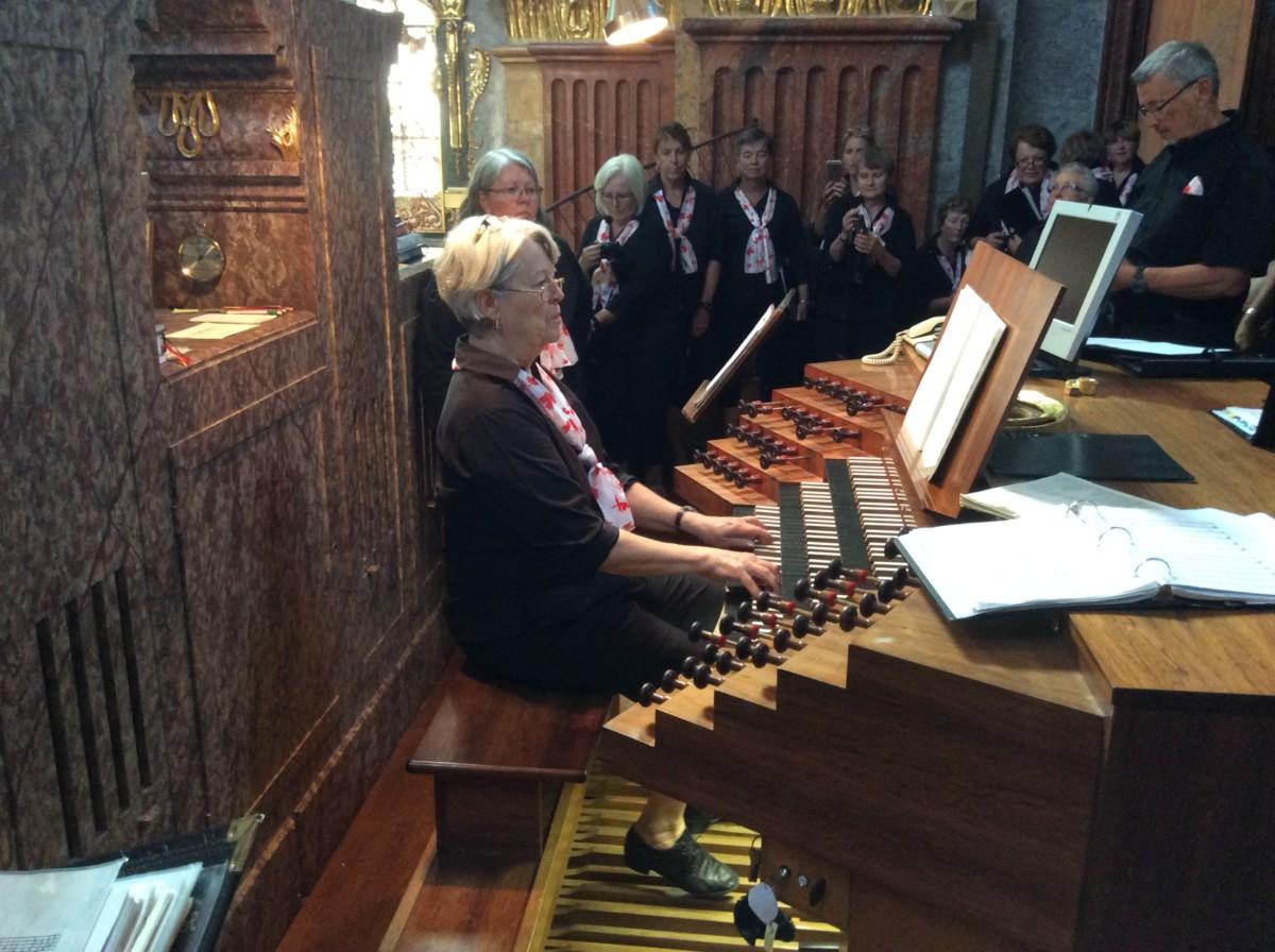 Performance at Melk Abbey