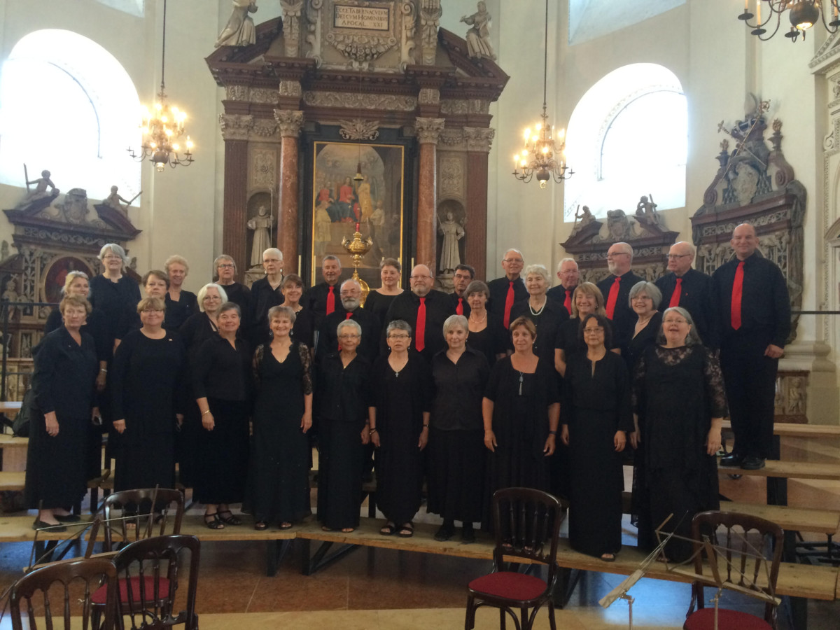 GJS Europe Choir - Salzburg - July 2016 Photo by Alex Mirhady