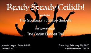 Ready Steady Ceilidh! @ Kanata Legion Branch 638