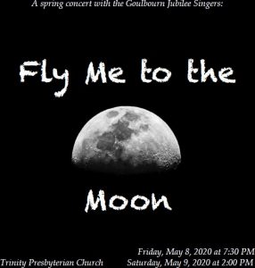 Fly Me To The Moon @ Trinity Presbyterian Church